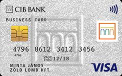 CIB Visa Business Üzleti Bankkártya