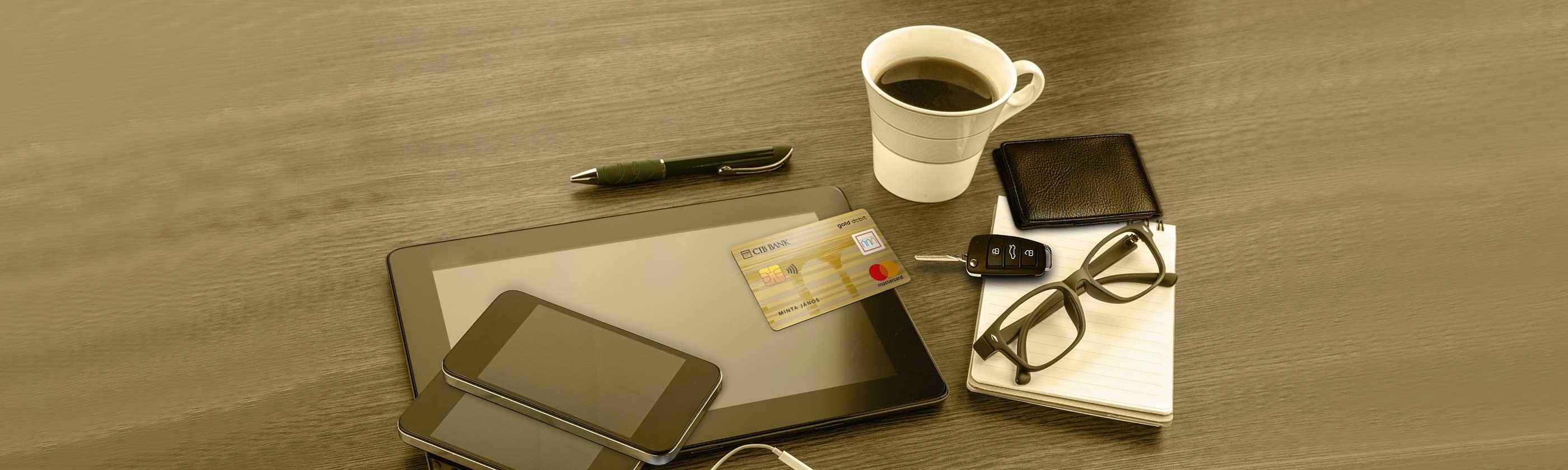 CIB Mastercard Gold debit bankcard