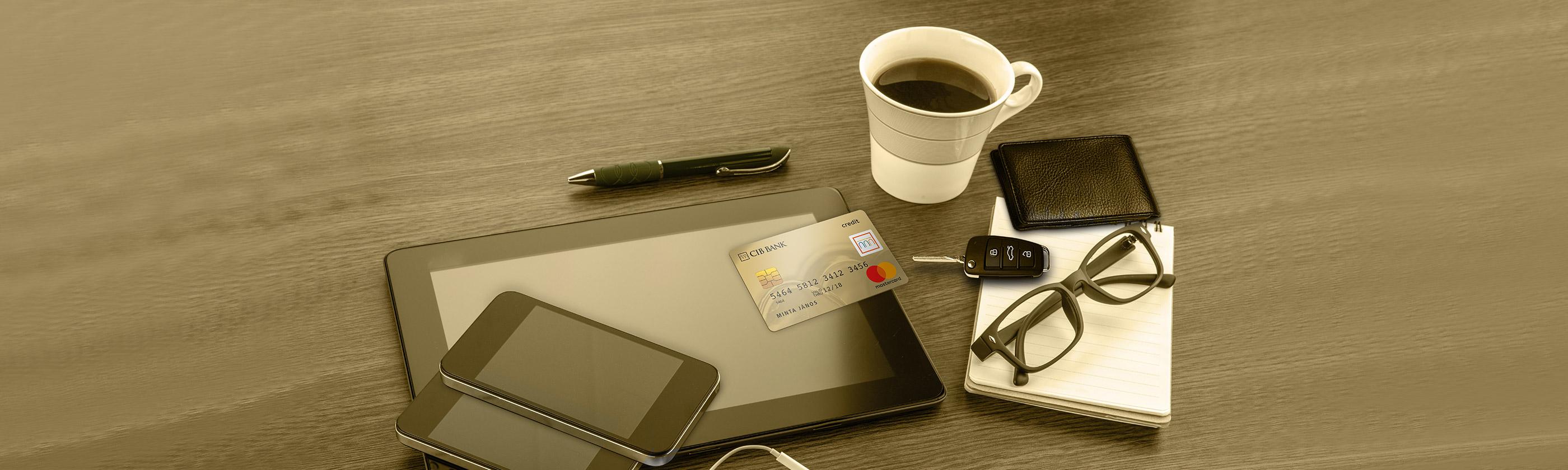 CIB Mastercard Gold Hitelkártya