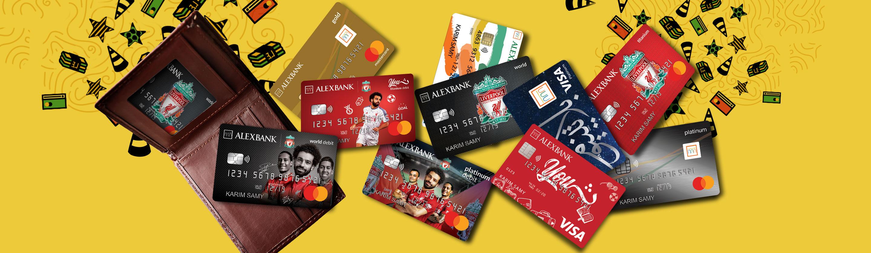بطاقات الخصم المباشر والائتمان