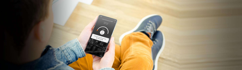 تطبيق الخدمات البنكية للموبايل
