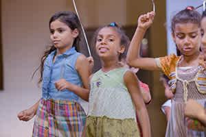 تحسين الظروف المعيشية للأطفال في أوضاع الشوارع (٢٠١٧-٢٠١٩)