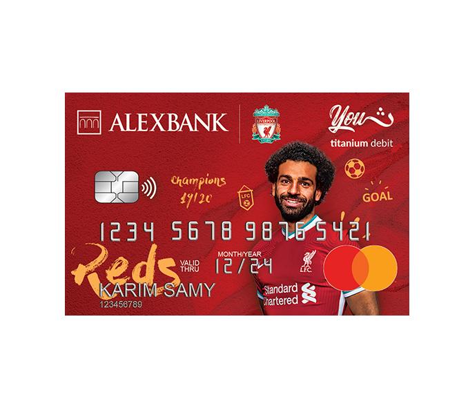 Liverpool Titanium YOUTH Debit Card