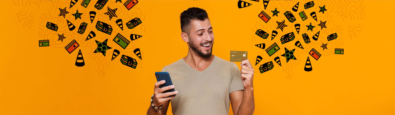 بطاقة الائتمان الذهبية