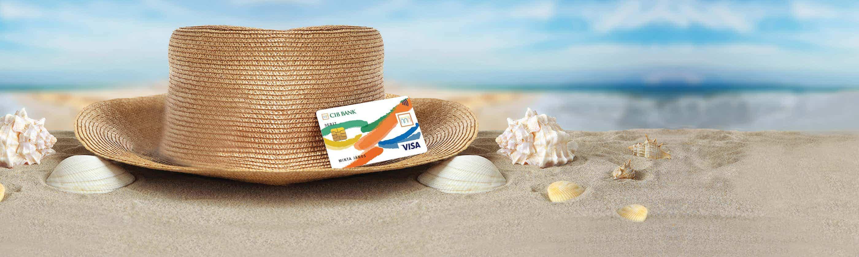 CIB Visa Inspire Dombornyomott bankkártya