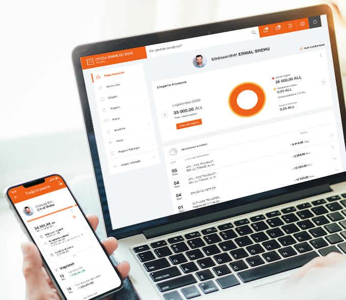 aktivizo online sherbimin bankar dixhital