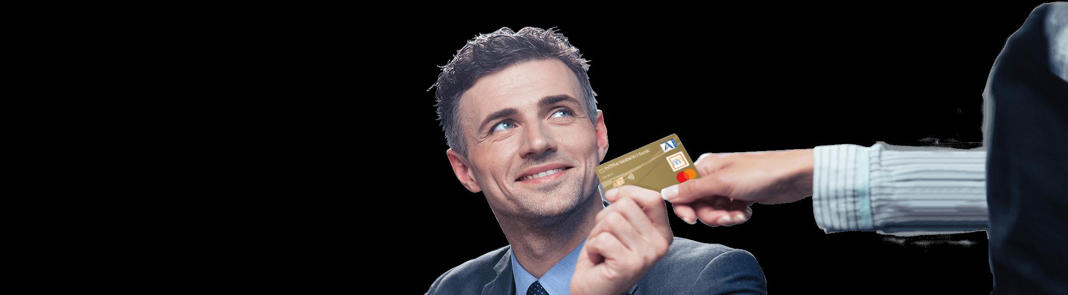zlati kartici z odloženim plačilom oz. kreditni kartici Activa Visa in Activa Mastercard