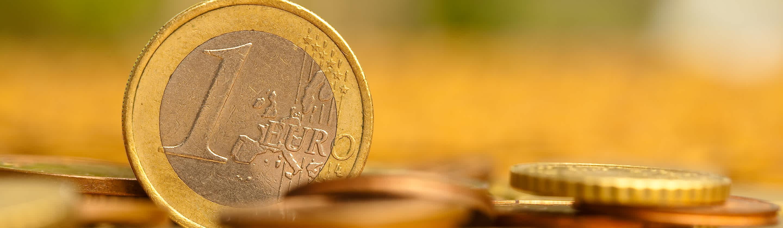 Evrski kovanec v vrednosti 1 evro