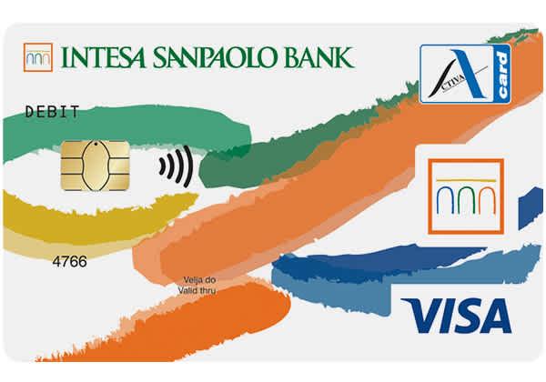 debit card Activa Visa Inspire
