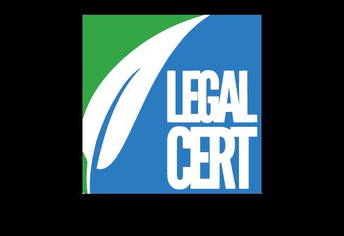 Legal Cert Logo ISO 27001