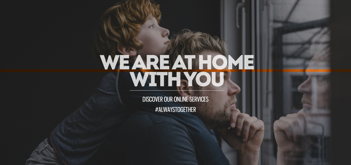 we are at home with you
