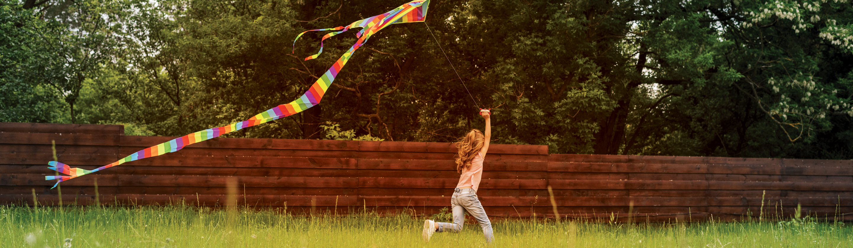 Girl with the kite