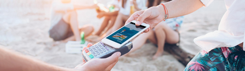 Plačevanje z mobilnim telefonom