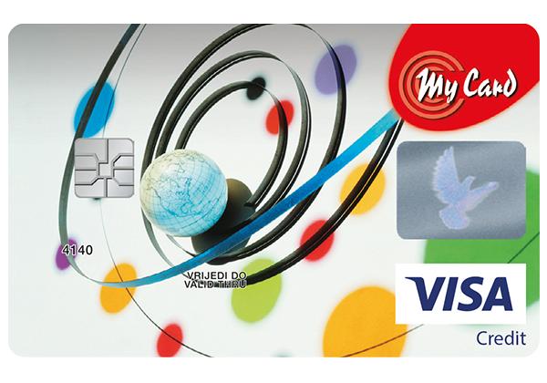 Visa Classic Revolving card