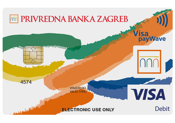 Visa Inspire Kartica