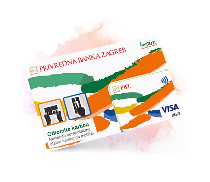 Visa Inspire Sticker