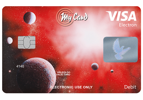 The Visa Electron card