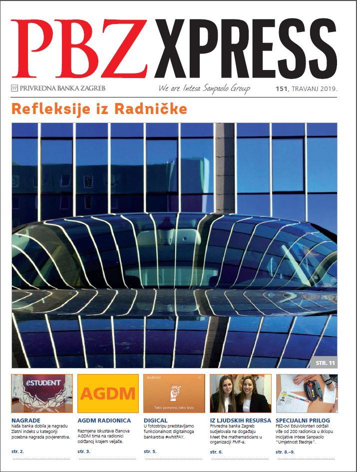 PBZXpress naslovna