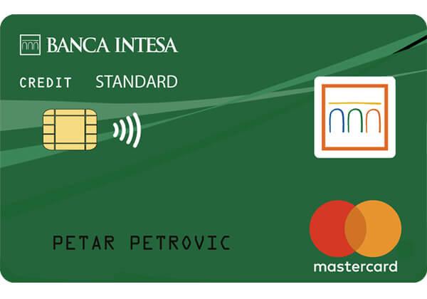 mastercard standard banca intesa
