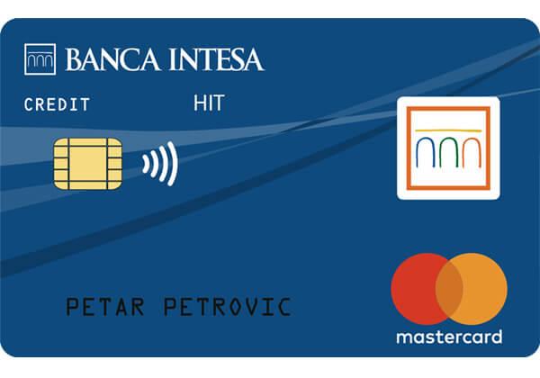 mastercard standard intesa hit banca intesa