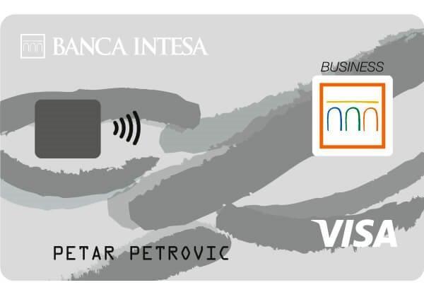 visa business debit card banca intesa