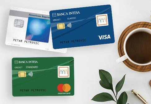 credit cards banca intesa