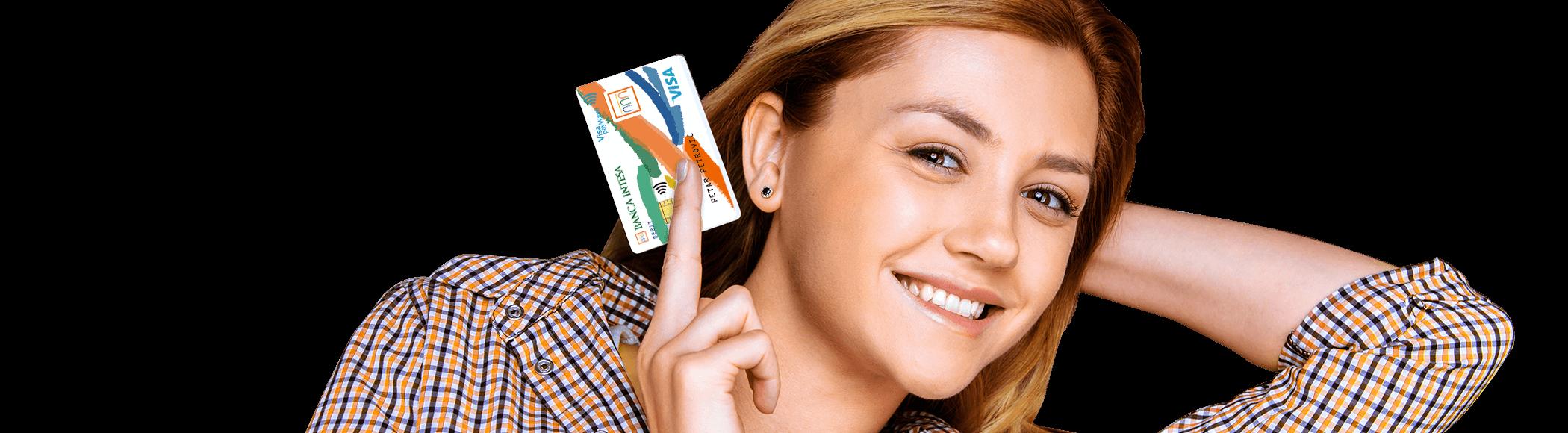 Visa Inspire debit card