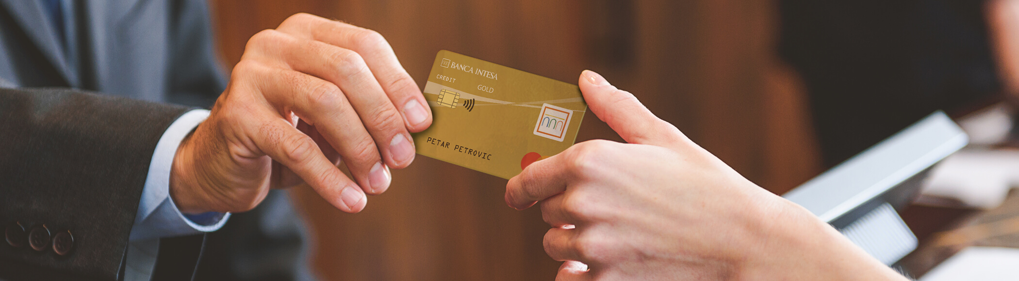 Mastercard Gold kreditna kartica