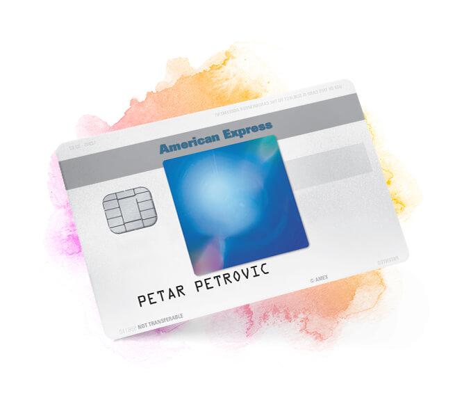 American Express Blue kreditna kartica