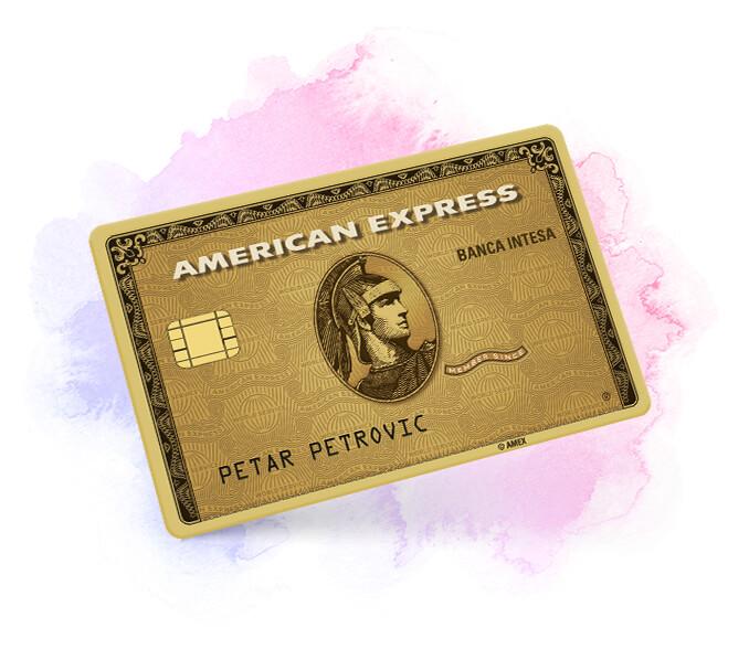 American Express Gold kreditna kartica