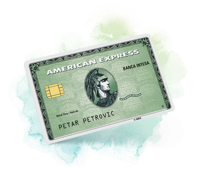 American Express Green credit card