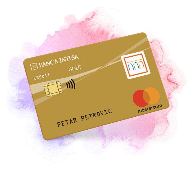 Mastercard Gold credit card