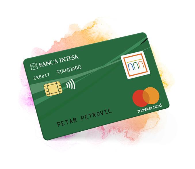 credit cards banca Intesa Mastercard standard