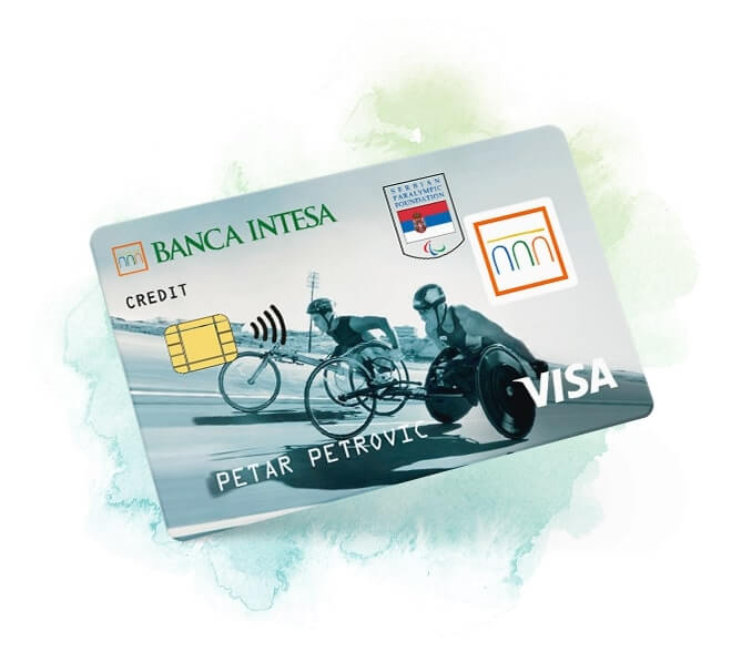 Visa classic paraylmpic kreditna kartica