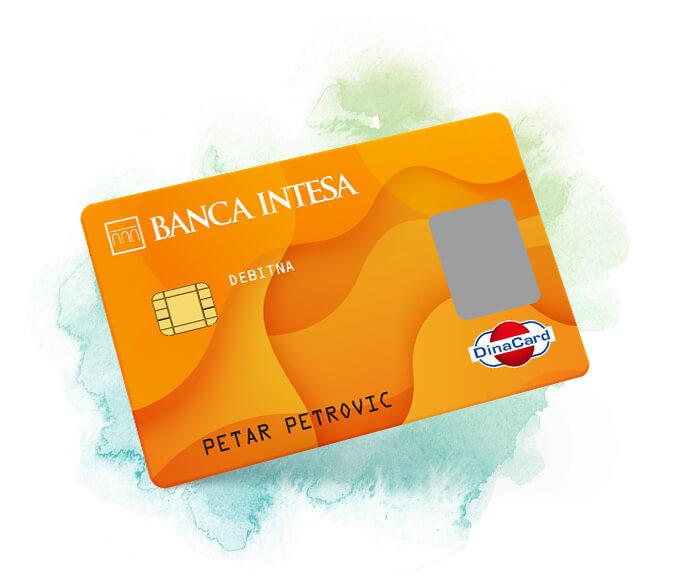 DinaCard debitna kartica