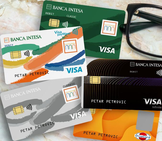 debitne kartice banca intesa