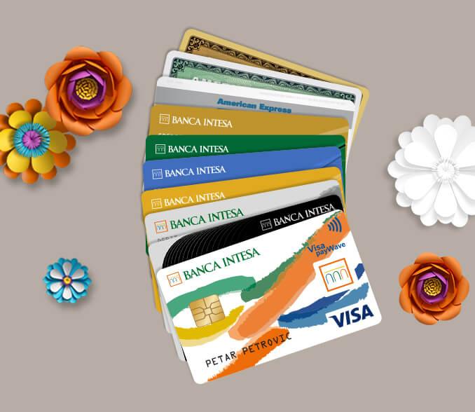 banca intesa business cards discounts