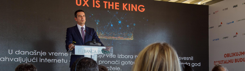 Oblikujemo digitalnu budućnost sa Banca Intesa