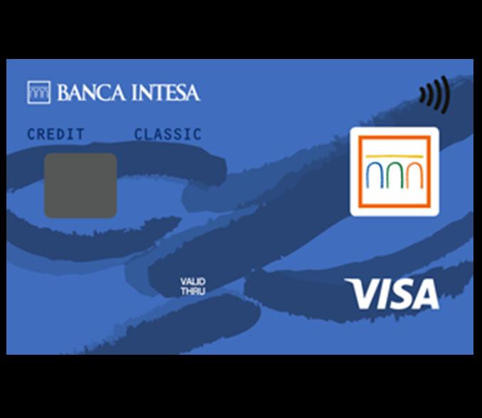 Visa Classic banca intesa kreditna kartica