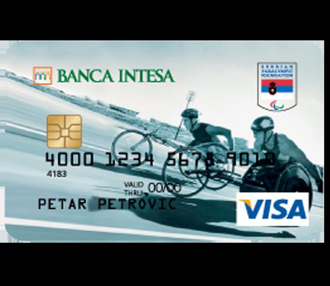 Visa Classic Paralympic credit card