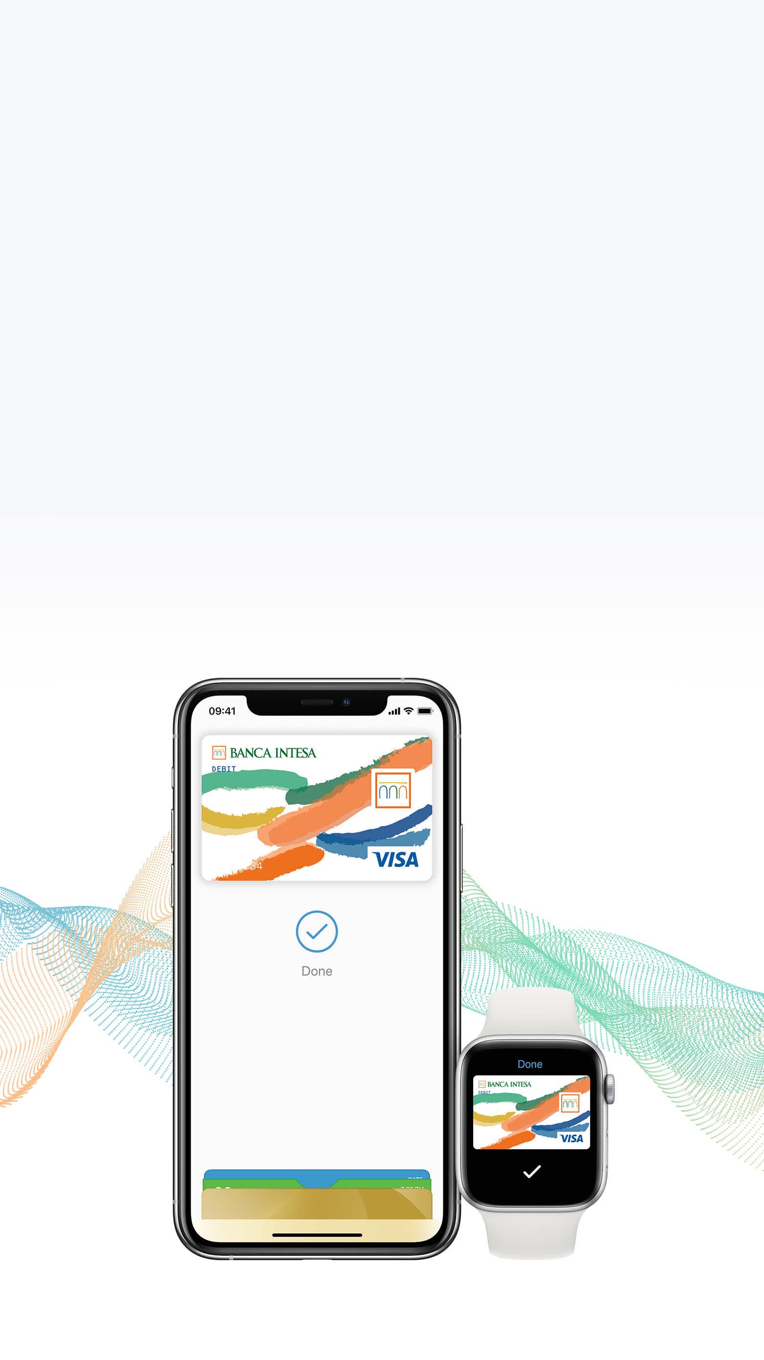 Apple Pay banca intesa home page