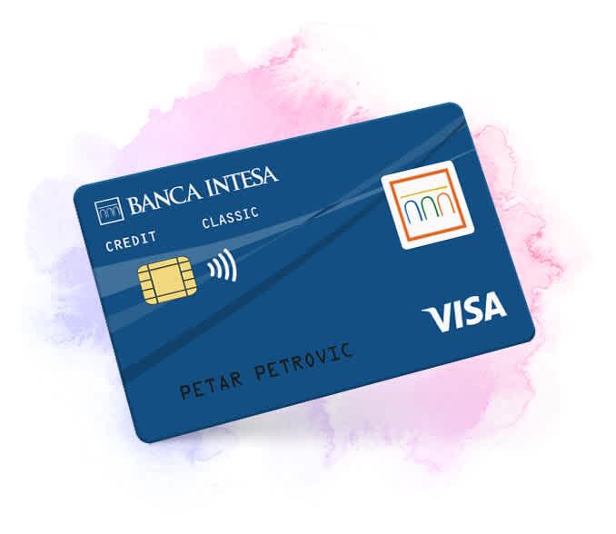 Visa classic kreditna kartica