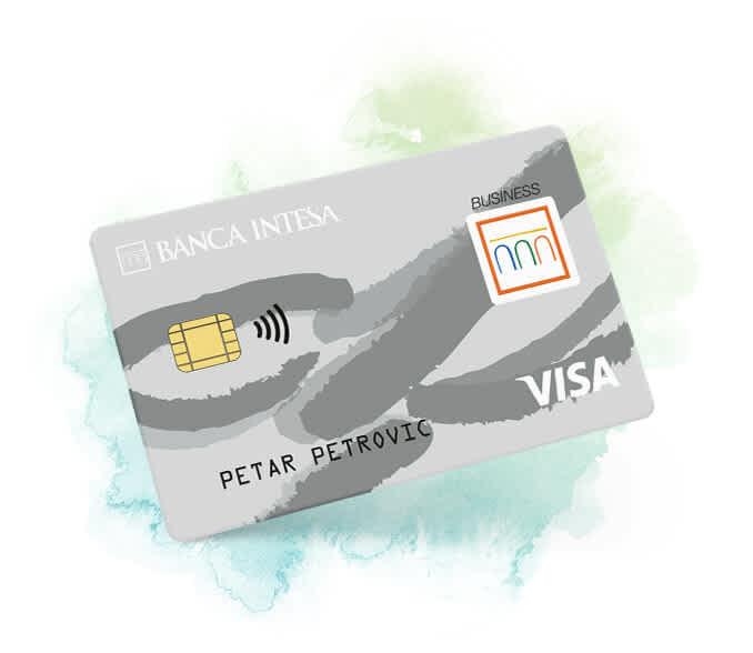 Visa Platinum debitna kartica