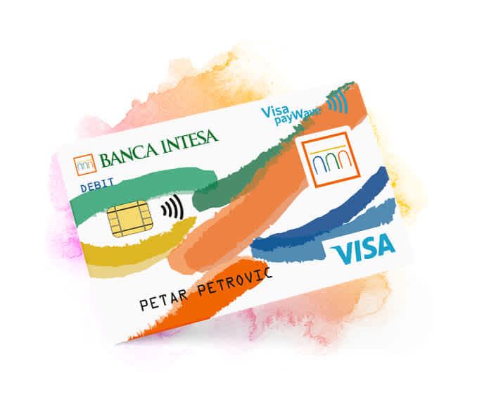 Visa Inspire debitna kartica