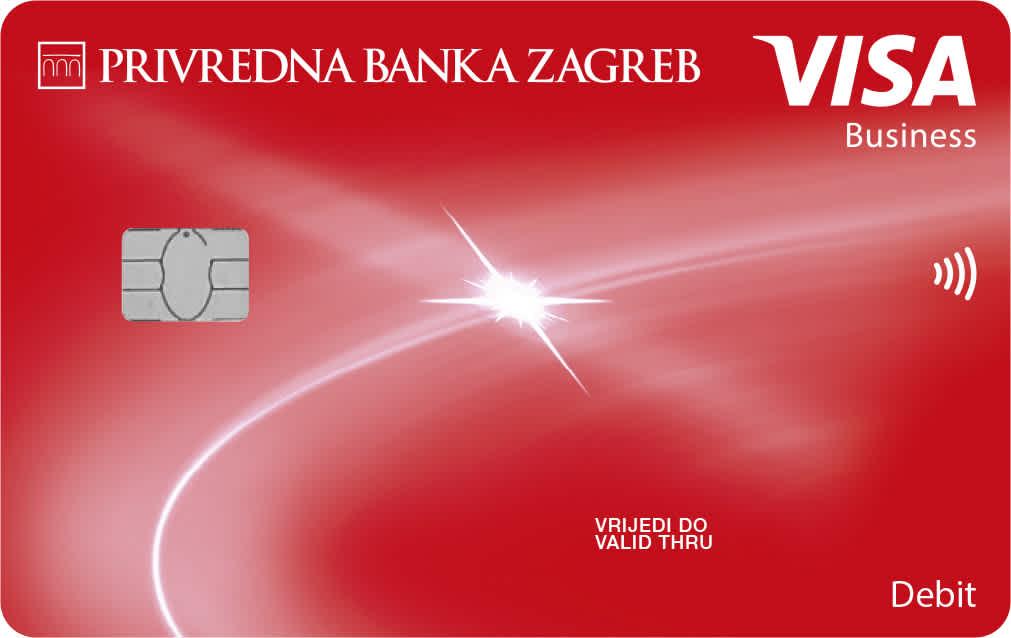 Visa Business Classic debit card for business entities