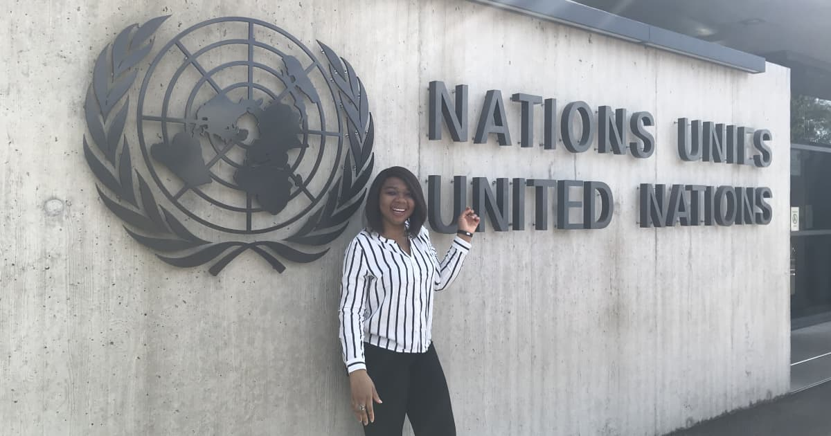 My internship at the World Health Organization - FIU News