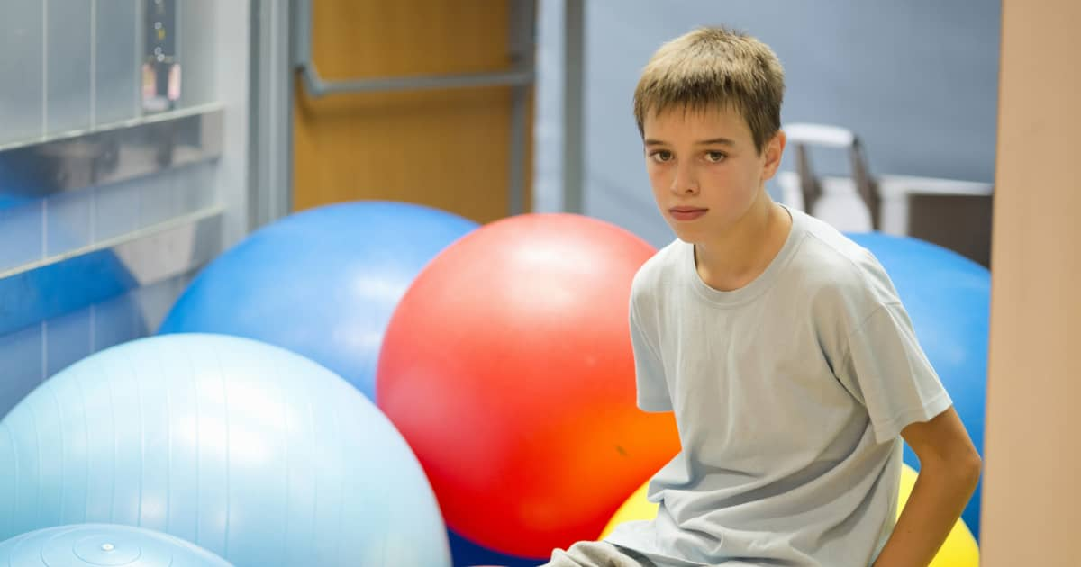 Weighted vests, stability balls do not help children with ADHD