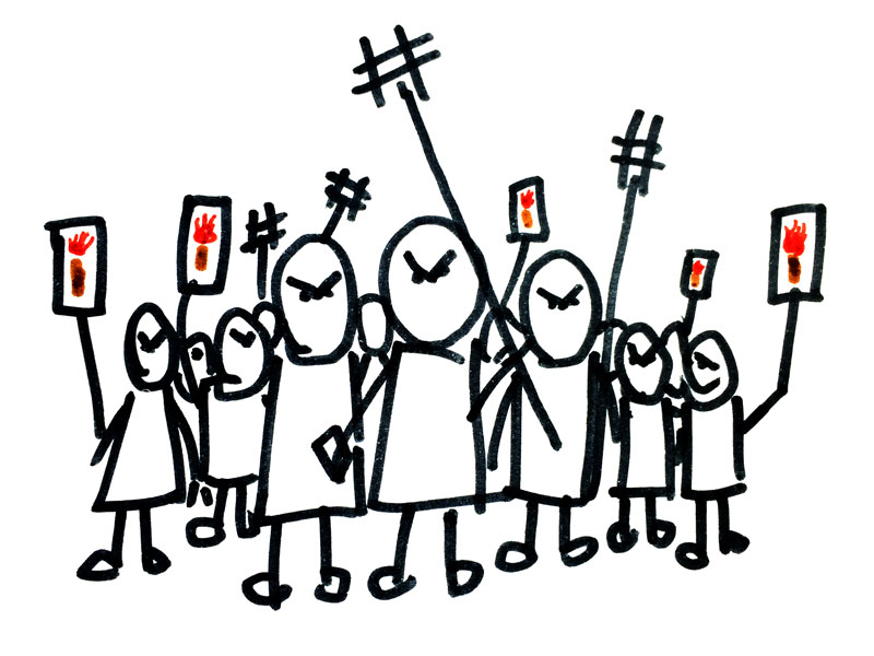 Light the flaming torches and stand back: Are you a good leader of your social media mob?