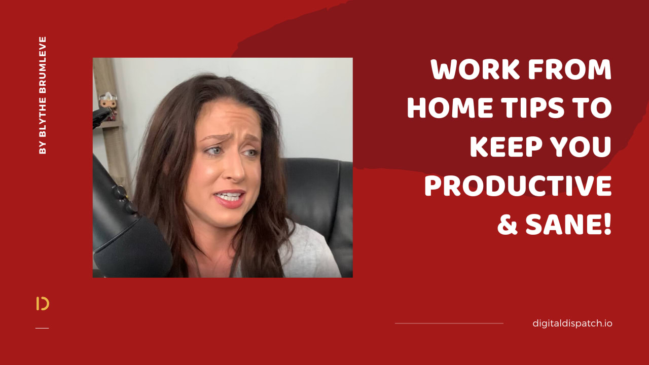 Some essential tips on making the 'work from home' adjustment