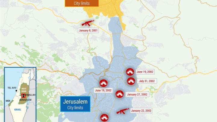 Map of Attacks